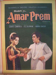 "Amar Prem (1972). This Rajesh Khanna, and Sharmila Tagore starer was directed by Shakti Samanta based on a short Bengali story by Bibhutibhushan Bandopadhyay. Music was by RD Burman. The movie had great songs like, ""Chingari Koi Bhadke"", ""Kuchh Toh Log Kahenge"", ""Yeh Kya Hua"" by Kishore Kumar. A lovely song by Lataji, ""Bada Natkhat Hai Yeh"". And, """"Doli Mein Bithai Ke"",  a classic by the legendary Music Director, SD Burman.  That was an era where lyrics and music were in perfect harmony."