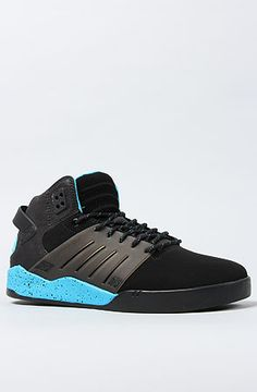 b03df65e00de Supra Shoes Skytop III Sneaker in Black and Blue
