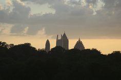 https://flic.kr/p/cCzihS | Atlanta skyline at sunset