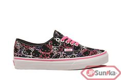 VANS Authentic  Hello Kitty - Black Pink  (VN-0QER66Y)