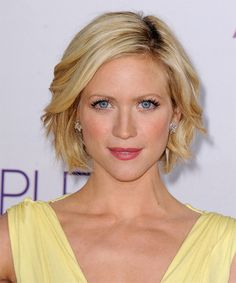 Brittany Snow - Casual Short Straight Hairstyle