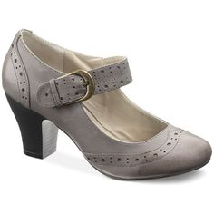 Hush Puppies Women's Shoes, Lolita Mary Jane Pumps ($89) ❤ liked on Polyvore