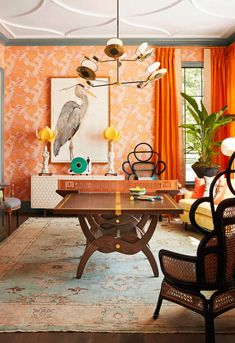 To truly get the most out of a room, it's best to invest in multi-functional pieces that enhance the space's versatility. So when Kentucky-based interior designer Chenault James was tasked with creating a dining room well-suited for a family, her main objective was making sure it was used beyond spec