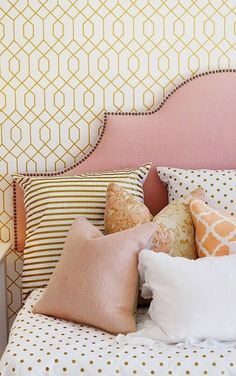 South Shore Decorating Blog: Beautiful Bedrooms, Part 2- love this as a daybed for teen girls room