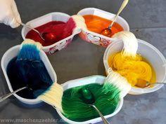 Wolle färben