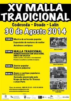 #Malla #Tradicional en #Lalin, #Galicia