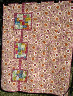 Katy's Quilt - Back