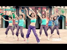 Zumba HIgh Official choreography by Francesca Maria and Zins worldwide - YouTube