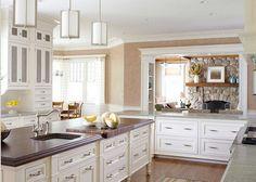 Kitchen look-through