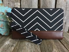 Wristlet Wallet for Iphone 7 Plus Vegan Leather Wristlet