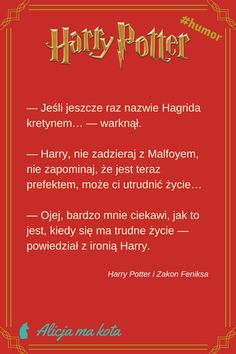 Harry Potter - śmieszne żarty, zabawne cytaty, ironiczne docinki Harry'ego Pottera | Draco Malfoy #HarryPotter #cytat #cytaty #książki Harry Potter Humor, Harry Potter Facts, Harry Potter Fan Art, Harry Potter World, Dramione, Drarry, Draco Malfoy, Harry Potter Pictures, Harry Potter Wallpaper