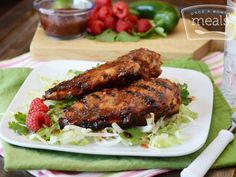 Grilled Raspberry Jalapeno Chicken