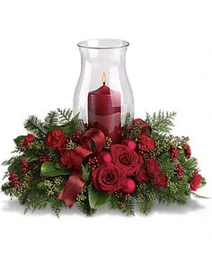 Give unique look to your table with our online Christmas centerpieces delivery. Send Christmas flowers centerpieces online to Greece for Christmas decoration. Christmas Candle Decorations, Christmas Flower Arrangements, Christmas Flowers, Christmas Candles, Flower Centerpieces, Christmas Holidays, Christmas Wreaths, Christmas Crafts, Christmas Ornaments