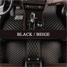 Nylon Carpet Coverking Custom Fit Front Floor Mats for Select GMC Sierra Models Black