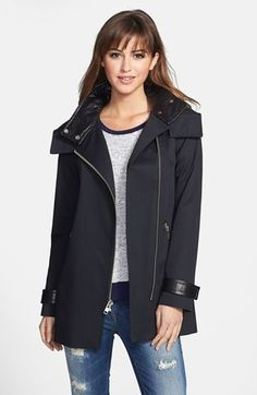 Mackage Asymmetrical Zip Cotton Jacket available at #Nordstrom