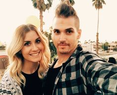 mikey and kristin bringen beautiful and adorable!!