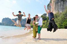 Railay Beach Buddhist Blessing Package : Christiane + Marco | Thai Marriage Planner
