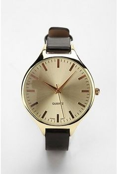 Classic Menswear Watch - I have my grandfather's.  As soon as I get a new battery, it's on my wrist
