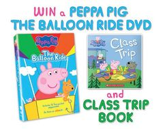 """DVD Review: """"Peppa Pig: The Balloon Ride"""" (& Giveaway Ends 8/22)"""