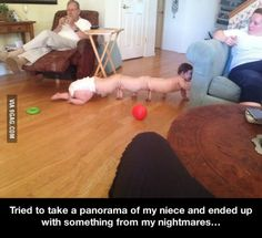 How not to take a panorama... - 9GAG