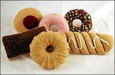 Doughnuts Felt Food Pattern