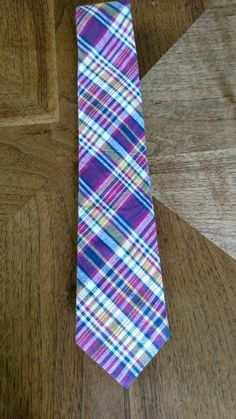 Check out this item in my Etsy shop https://www.etsy.com/listing/479630189/vintage-1980s-preppy-madras-necktie