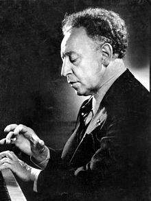 Artur Rubinstein... (January 28, 1887, Lodz, Poland-December 20, 1982, Geneva, Switzerland). Polish-American concert pianist. Became a naturalized American citizen, 1946.