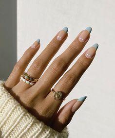 Nagellack Design, Nagellack Trends, Simple Acrylic Nails, Best Acrylic Nails, Rounded Acrylic Nails, Milky Nails, Acylic Nails, Minimalist Nails, Fire Nails