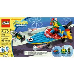 LEGO SpongeBob SquarePants Heroic Heroes of the Deep