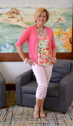50 Is Not Old | Going Pink | Breast Cancer Awareness | Spring Outfit | Fashion over 40 for the everyday woman