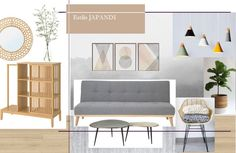 El estilo JAPANDI Love Seat, Couch, Furniture, Home Decor, House Decorations, Light Shades, Open Spaces, Chairs, Home