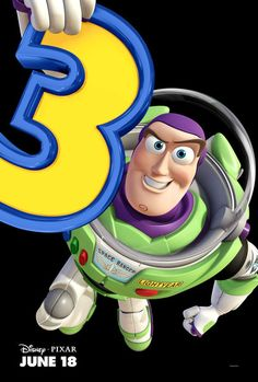 Image of Buzz Lightyear from the Disney/Pixar Toy Story franchise. Toy Story 3 Movie, Toy Story Party, Toy Story Birthday, 3rd Birthday, Cumple Toy Story, Festa Toy Story, Bolo Toy Story, Dibujos Toy Story, Imprimibles Toy Story