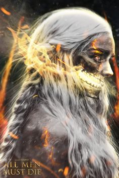 All Men Must Die - Incríveis Retratos de Game of Thrones feitos por Boss Logic