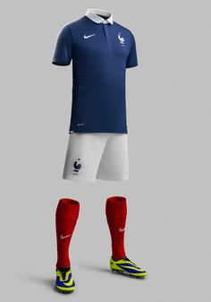 b2726e4de72 France National Football Team Kit for 2014 x Nike