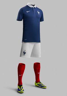 France National Football Team Kit for 2014 x Nike