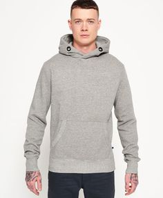Superdry Runner Embossed Cross Neck Hoodie