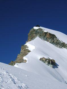 Allalinhorn 4027 meter  |  Hohlaubgrat  |  Saas Fee