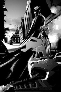 Batman and Robin by Dustin Nguyen