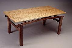 Japanese Coffee Table: Jeffrey Hills: Wood Coffee Table- STUDIO SALE | Artful Home