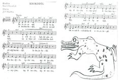 krokodýl Music Page, Kids Songs, Egypt, Ms, Africa, Children Songs, Songs For Children