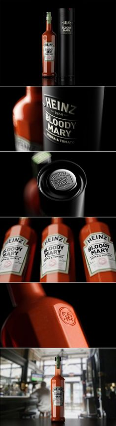 Heinz Bloody Mary Cocktail(Concept) by Constantin Bolimond