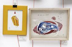 Exhibition by driehoek , via Behance Illustration Art, Behance