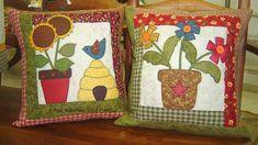 almofadas infantil em patchcolagem de flor - Pesquisa Google
