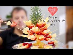 Cómo hacer un Centro de fruta con piña, naranja y fresa tallando por J Pereira Art Carving - YouTube
