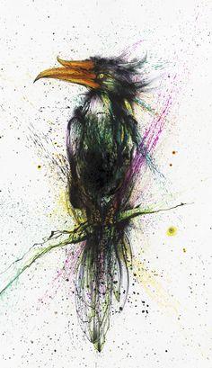 Toucan by huatunan.deviantart.com on @deviantART