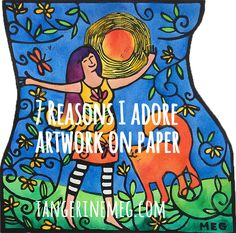 Here are seven reasons why I love*love*love artwork on paper, 'specially watercolours. From the sheer variety and the light though to the bold commitment! Watercolours, About Me Blog, My Love, Paper, Artwork, My Boo, Art Work, Work Of Art, Auguste Rodin Artwork