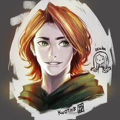 Kvothe - The Kingkiller Chronicle