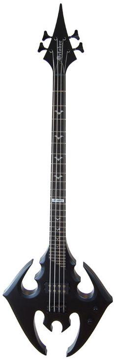 Cool Bass Guitars   Cool New Bass Guitar: The Devil Grows Wings from Oktober Guitars