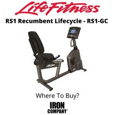 The RS1 Lifecycle from Life Fitness is a recumbent exercise bike with step-through design which provides a relaxed body position and stability ideal for home exercisers of all fitness levels. The bike frame is based upon the proven design of Lifecycle bikes in the best health clubs and gyms. The step-thru design with front assist handle allows for easy entry and exit. Eddy Current, Recumbent Bike Workout, Cardio Equipment, Easy Entry, Bike Frame, Health Club, Stability, Handle, Positivity