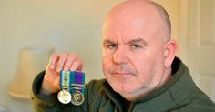 Tony McNally, 55, has been haunted by post-traumatic stress disorder for 35 years after seeing more than 50 soldiers die